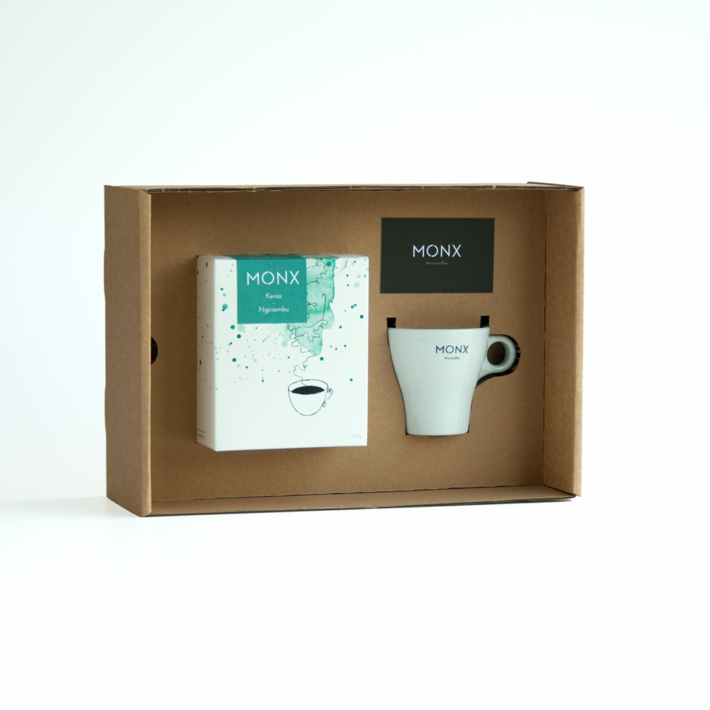 monx porcelain mono box white