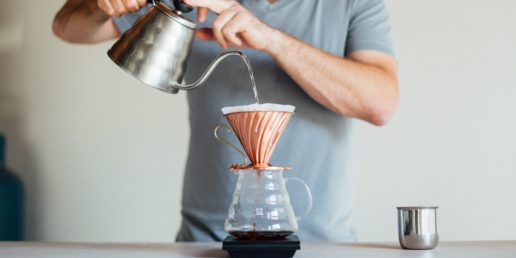 slow coffee pour-over