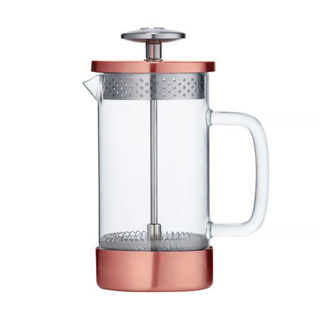 French Press 3 cups copper